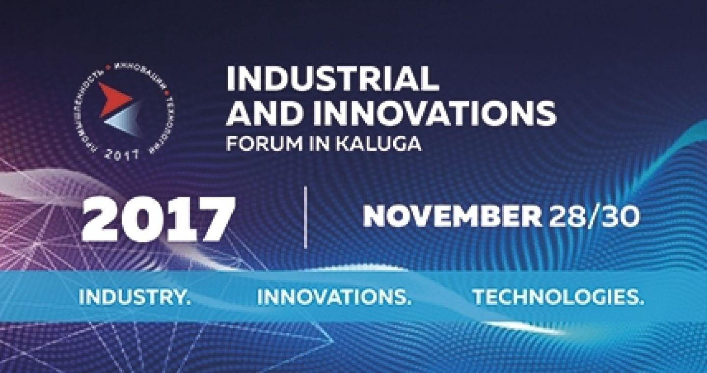 Industrial and Innovations Forum in Kaluga